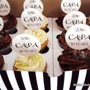 CTH28 - CAPA Logo Cupcake Toppers