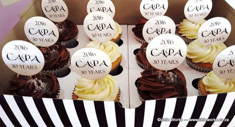 CTH28 - CAPA Logo Cupcake Toppers