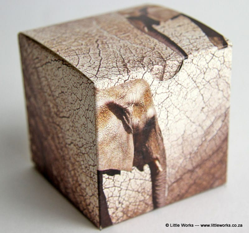 BOXS4 - Elephant Skins Gift Box (Pack of 4 boxes)