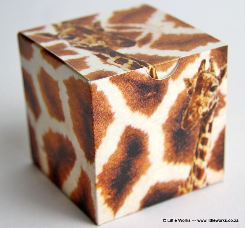 BOXS1 - Giraffe Skins Gift Box (Pack of 4 boxes)