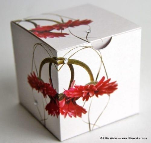 BOXZ4 - Gerbera Zirconia Gift Box (Pack of 4 boxes)