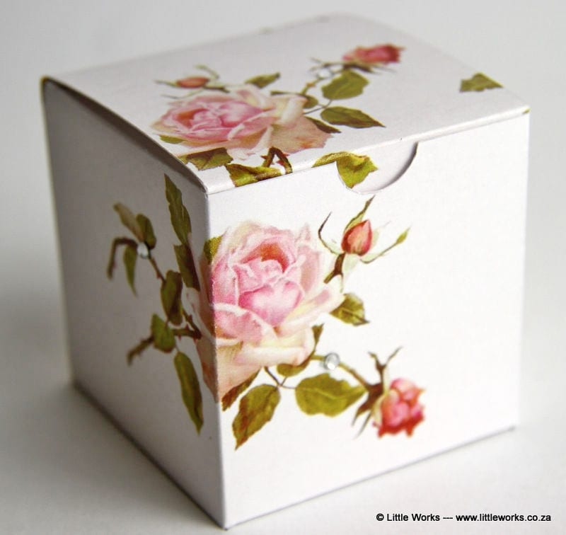 BOXZ3 - Rose Zirconia Gift Box (Pack of 4 boxes)