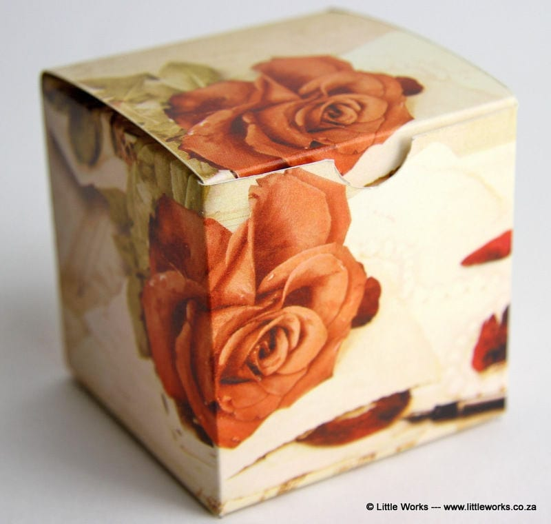 BOXOV3 - Vintage Rose Gift Box (Pack of 4 boxes)