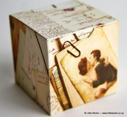 BOXOV1 - Vintage Gift Box (Pack of 4 boxes)