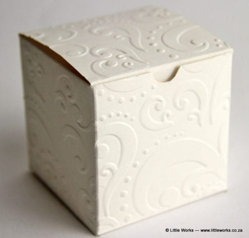 Embossed Gift Box (Pack of 4 boxes)