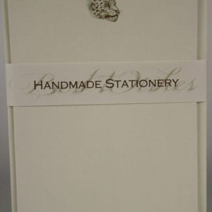 NOT10 - Handmade Notelets - Leopard - Pack of 6 with matching Envelopes
