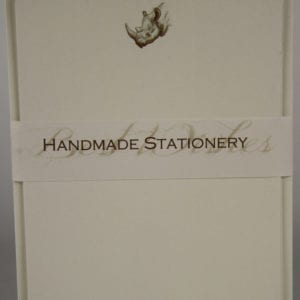 NOT11 - Handmade Notelets - Rhino - Pack of 6 with matching Envelopes