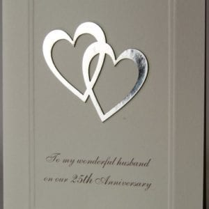 25YAH - 25th Anniversary Husband