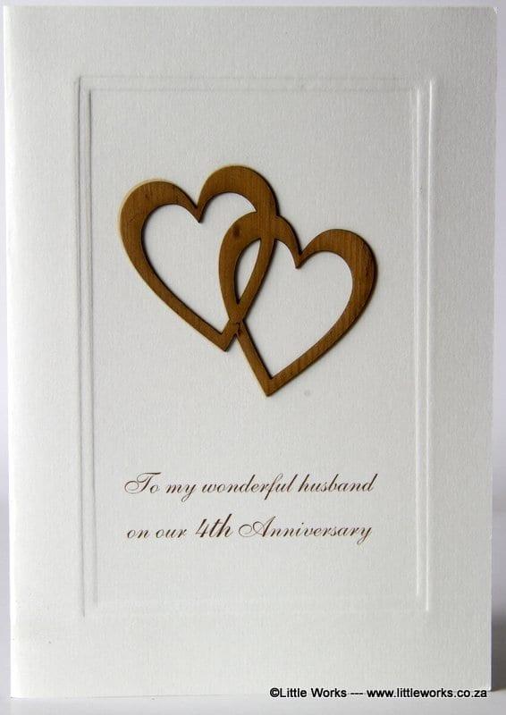 4YAH - 4th Anniversary Husband