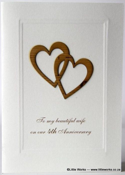 4YAW - 4th Anniversary Wife