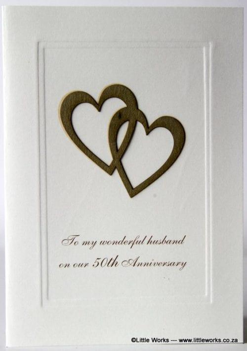 50YAH - 50th Anniversary Husband