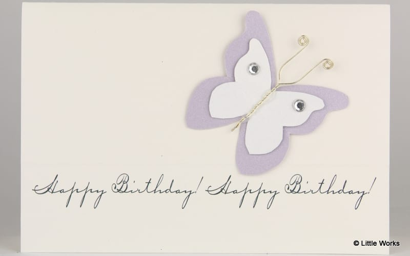 BB - Birthday Butterfly