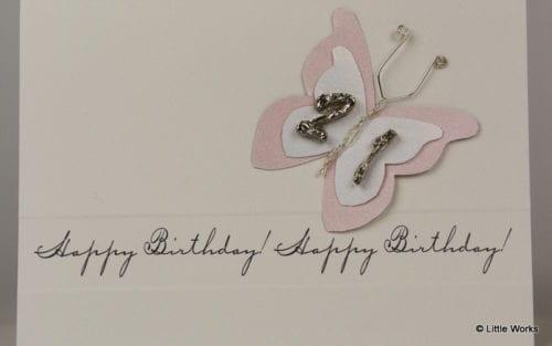 BB21 - 21st Birthday Butterfly