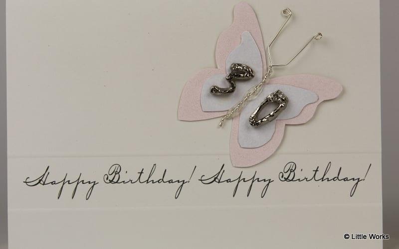 BB30 - 30th Birthday Butterfly