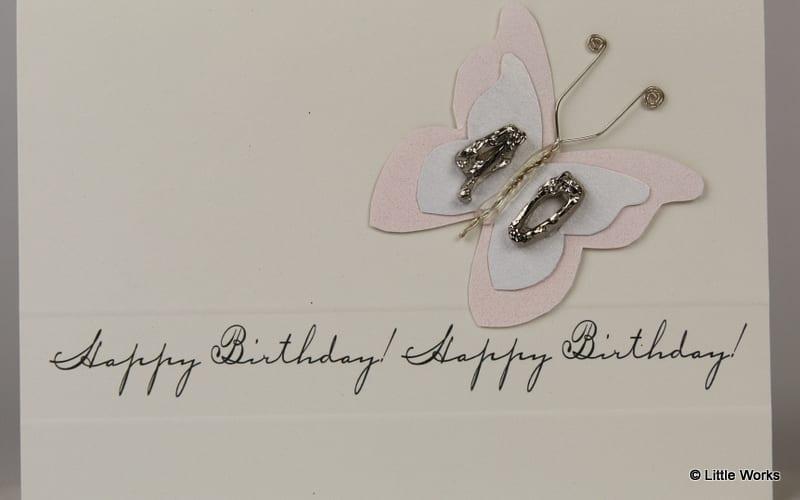 BB40 - 40th Birthday Butterfly