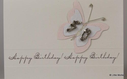 BB50 - 50th Birthday Butterfly