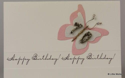 BB70 - 70th Birthday Butterfly