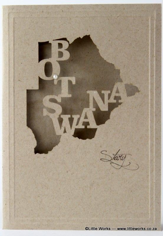 LCBSD - Botswana Map - Desert Storm