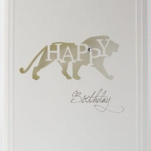 LCHBL - Happy Birthday - Lion