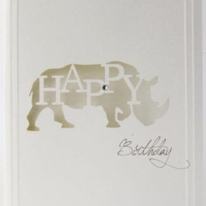 LCHBR - Happy Birthday - Rhino