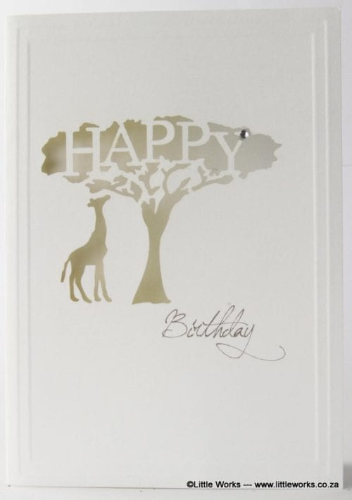 LCHBT - Happy Birthday - African Tree