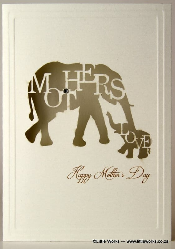 LCMDE - Happy Mother's Day Elephant