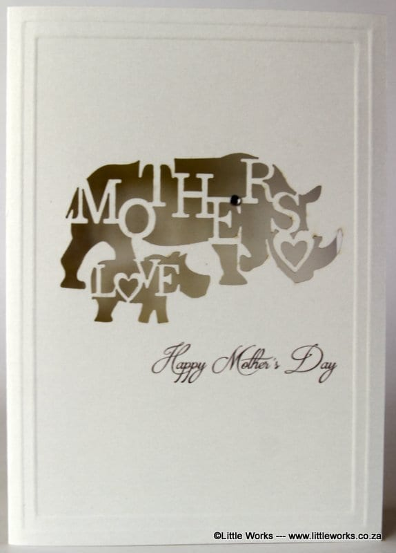 LCMDR - Happy Mother's Day Rhino